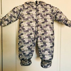 JUST ONE YOU  By CARTER'S SNOWSUIT - Size 6M